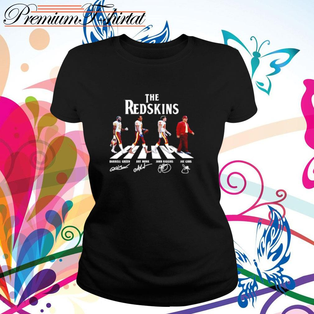 Abbey Road The Redskins signatures s ladies-tee