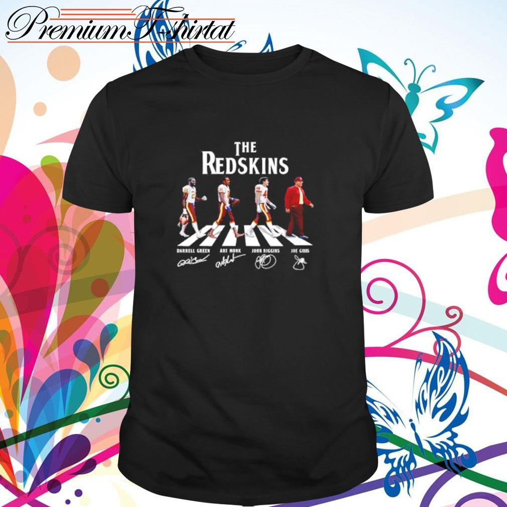 Abbey Road The Redskins signatures shirt