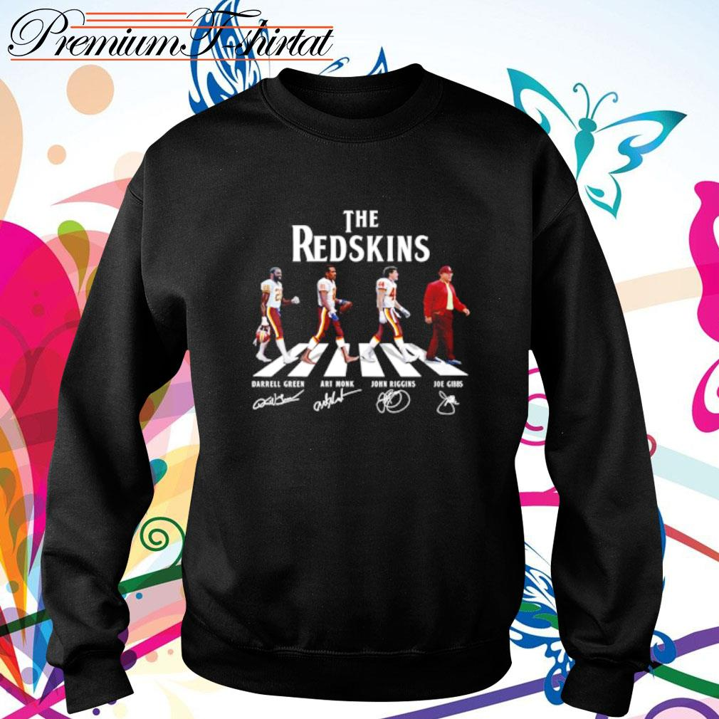 Abbey Road The Redskins signatures s sweater