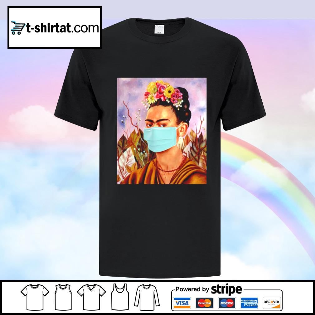 Frida Kahlo self mask women shirt