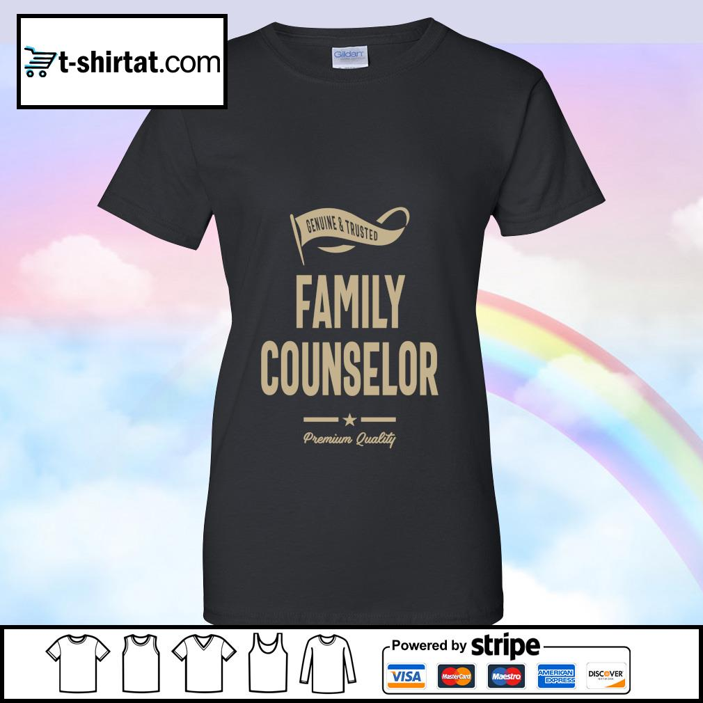 Genuine and trusted family counselor premium quality s ladies tee