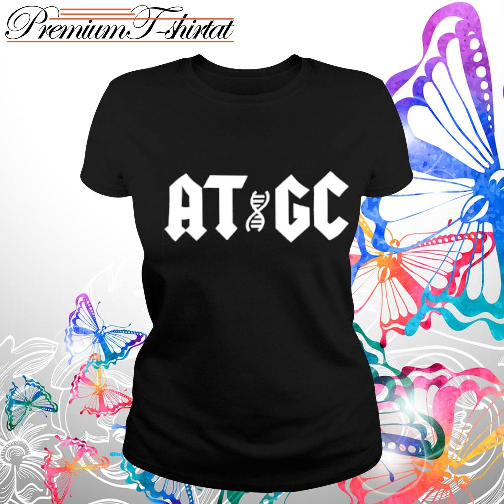 Official ATGC DNA s ladies-tee