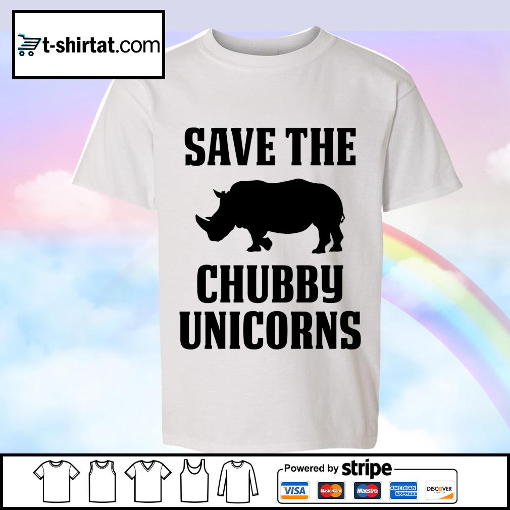 Save The Chubby Unicorns s youth-tee