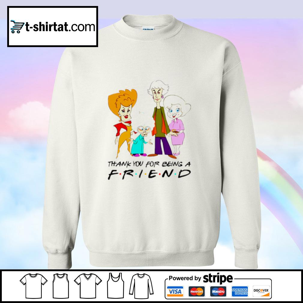 The Golden Girls thank you for being a Friend s sweater