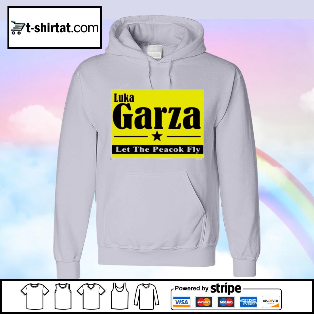 Luka Garza 2020 Let The Peacock Fly s hoodie