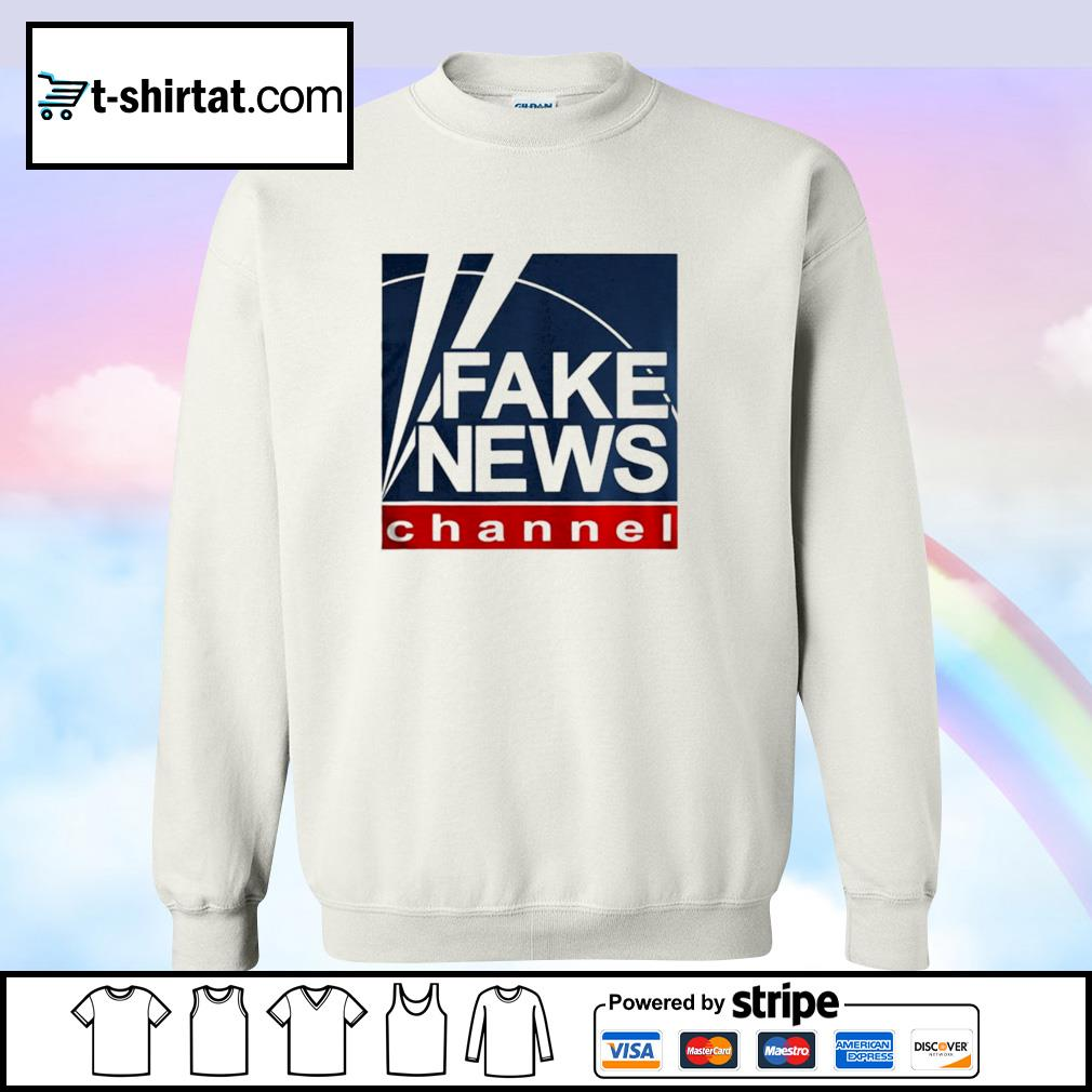 Fake new channel funny vote s sweater