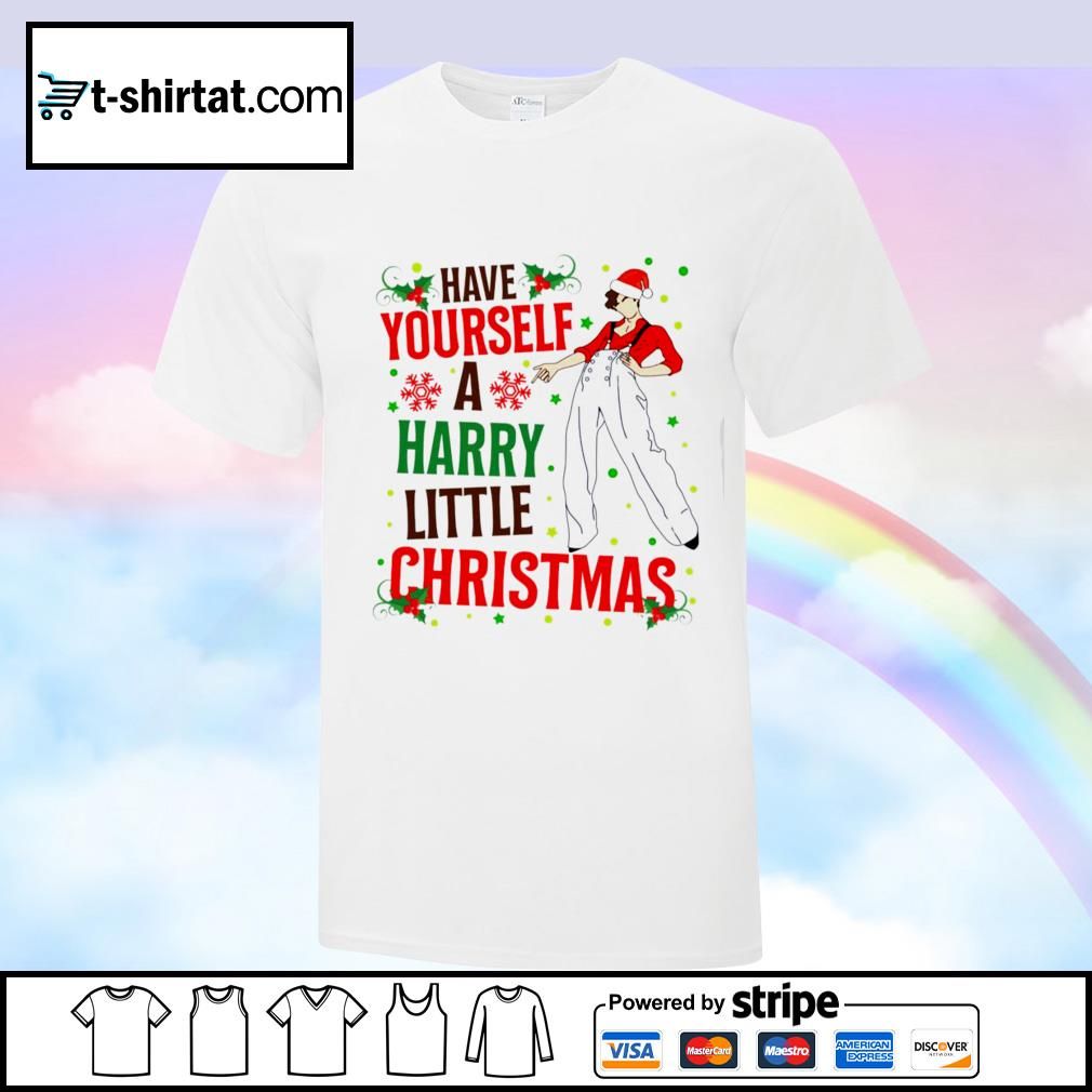 Have Yourself A Harry Little Christmas Funny Christmas Harry Styles Best Time Of The Year shirt